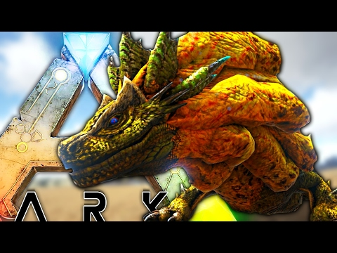 ARK Survival Evolved - NEW ROYAL LUDROTH MONSTER HUNTER CREATURE, SPECIAL ATTACKS & MORE - Gameplay