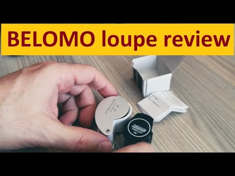 Belomo Diamond Loupe 10x Triplet Magnifying Glass