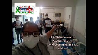 TV SINDACS PE -  SINDACS PE em visita no P. A. do Engenho do Meio/Recife
