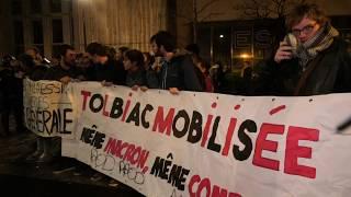 Rassemblement à l'université de Tolbiac après l'évacuation de la Sorbonne  (12 avril 2018, Paris)