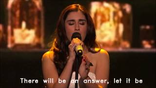 Fifth Harmony w lyrics - Let it be