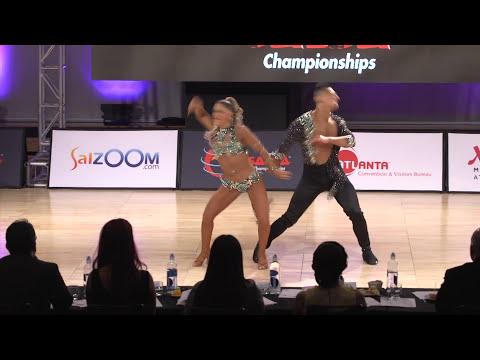 Ricardo & Karen (1st Place/Cabaret) (World Salsa Championships) 2016