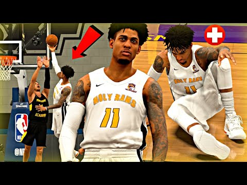 NBA 2K20 MyCAREER: The Journey #4 - ROCKY INJURY RUINS OUR PERFECT SEASON! VS 18-0 MONTVERDE ACADEMY
