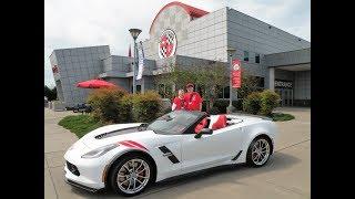 Museum Volunteer Surprises Wife with Corvette