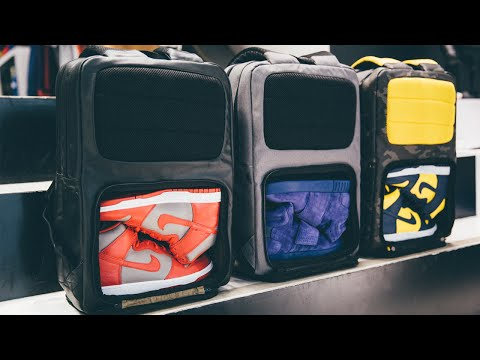 1cfeb269c940 Sneaker Backpack - YouTube