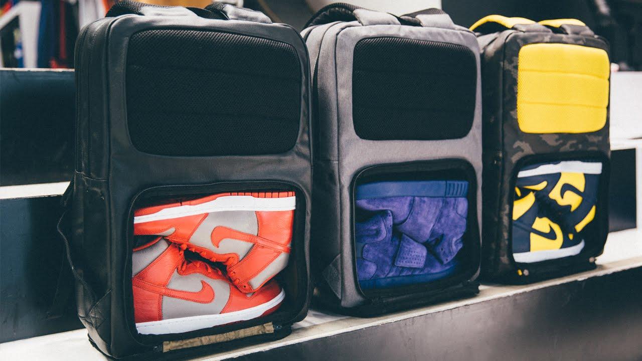 53377a384185 Sneaker Backpack