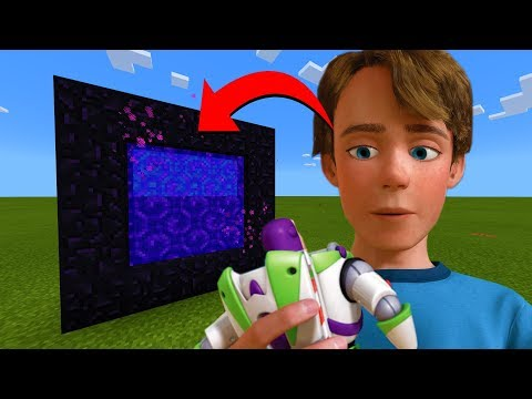 How To Make A Portal To The Toy Story 4 Andy Dimension in Minecraft!