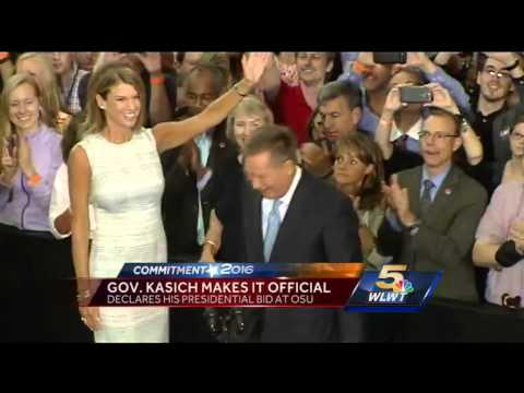 Gov. John Kasich launches presidential campaign