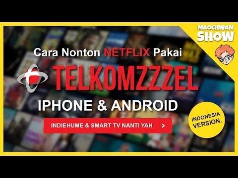 [100% WORKS] Cara Nonton NETFLIX TELKOMSEL Di ANDROID & IPHONE - Tips & Lyfehack