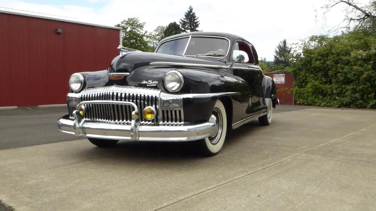 1948 Desoto Deluxe Club Coupe \