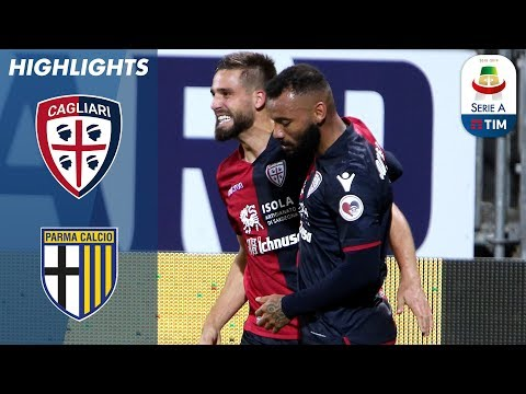 Cagliari 2-1 Parma | Pavoletti with the Double as Cagliari Complete Comeback | Serie A