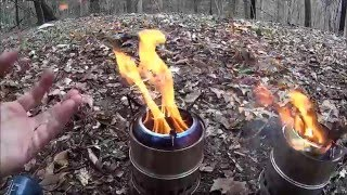 20 dollar eBay Stainless Steel Wood Gas Stove Field Use Review.