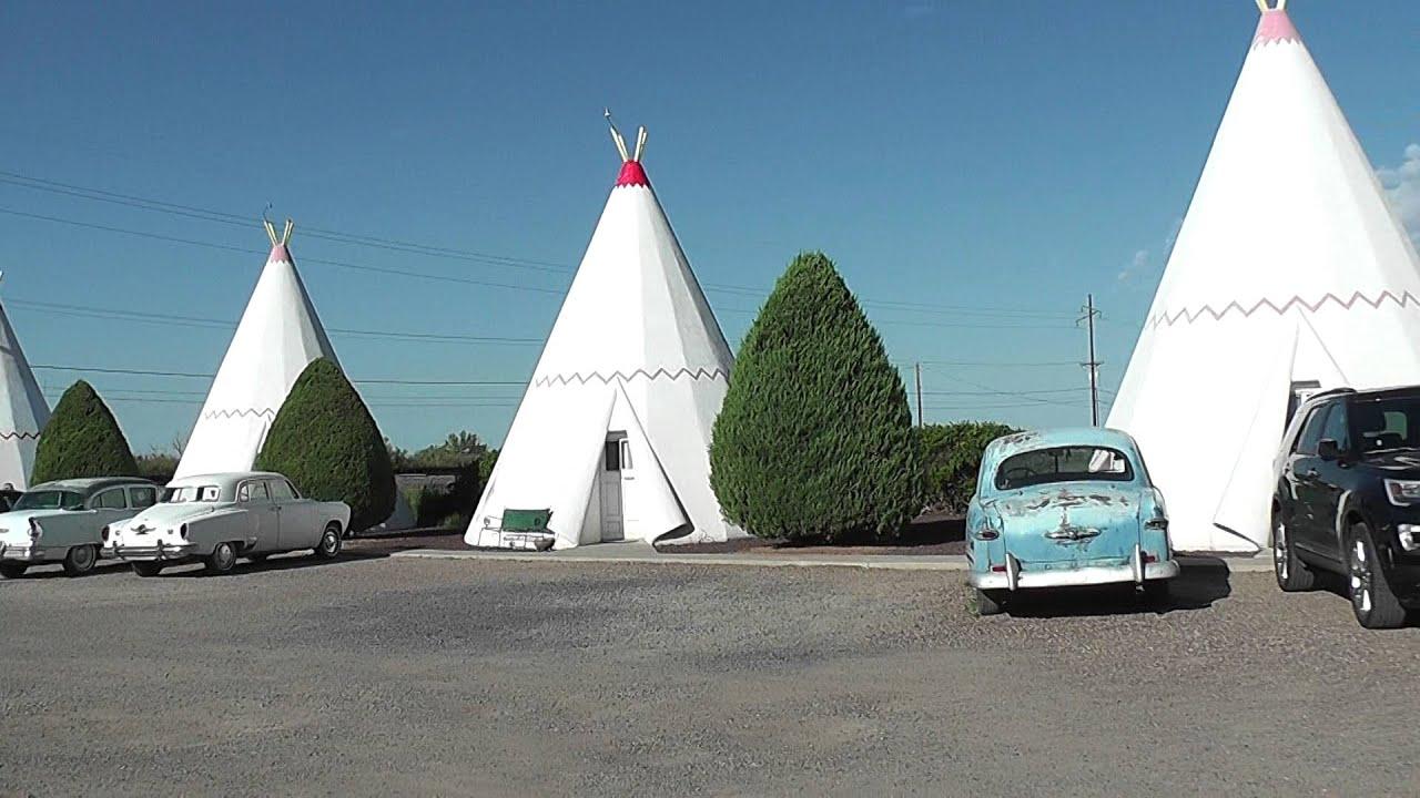 Outside Wigwam Hotel On Old Route 66 Holbrook Arizona