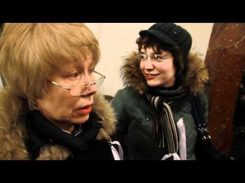 Флешмоб Белое метро