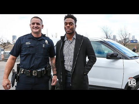 BTV: Brandon Marshall Rides Along With Denver Police Department