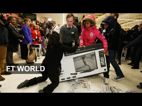 Black Friday chaos in UK shops | FT World