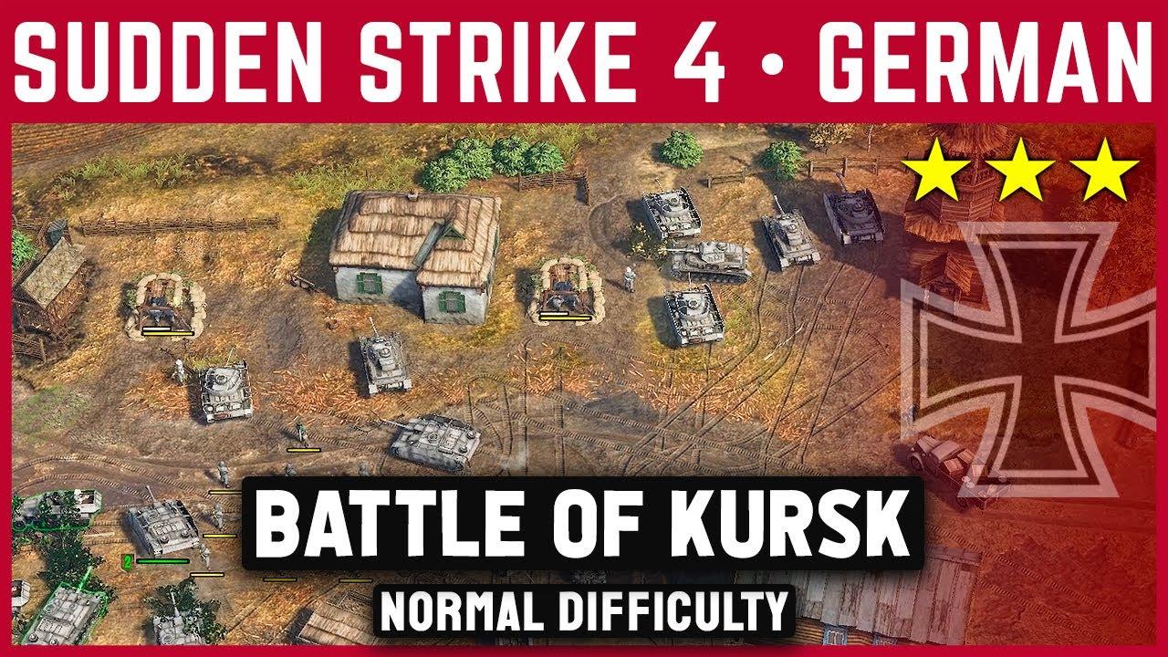 Sudden strike 4 - battle of kursk for mac