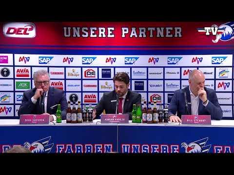 Pressekonferenz: Adler Mannheim - ERC Ingolstadt