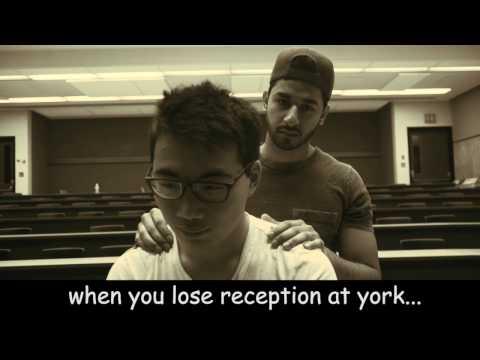 No reception at YorkU