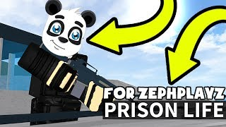 NEW PRISON LIFE UPDATE IS ABOUT ME? | Roblox