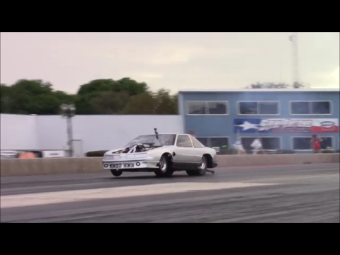 Street Outlaws New Orleans John Doe test at San Antonio Raceway