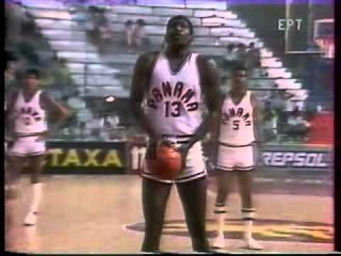 MUNDOBASKET 1986 GREECE PANAMA PART 1