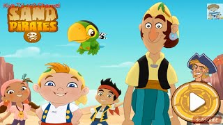 Jake And The Neverland Pirates | Cubby and Bones are Sand Pirates | Kids TV 123 Channel