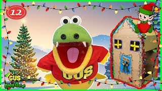 Box Fort Challenge Christmas Edition and Songs for Kids