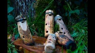как сделать деревянную окарину / how to make a wooden ocarina diy