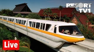 🔴Live: Magic Kingdom Monorail Resorts Live Stream - 10-5-18 - Walt Disney World