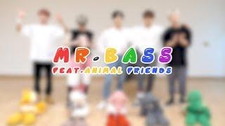 A.C.E(에이스) -  Mr.bass dance practice (feat. animal friends)