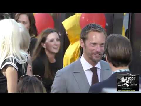 Alexander Skarsgard outside the IT Premiere at TCL Chinese Theatre in Hollywood