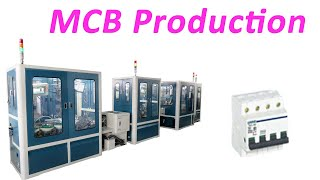 MCB Miniature Circuit Breaker Automatic Assembly Line Automation Equipment Plant Automation