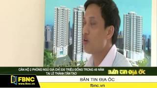 Căn hộ 2 phòng ngủ giá chỉ 330 triệu đồng trong 49 năm tại Lê Thành Tân Tạo
