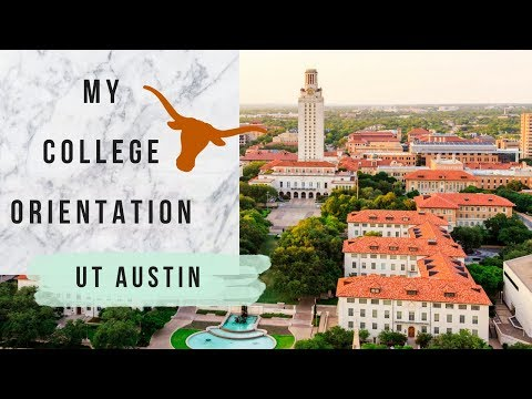 MY COLLEGE ORIENTATION VLOG | UT Austin