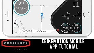 In this video alvin from contender bicycles covers the basics of how to get your ebikemotion equipped electric bike sync'd smartphone. is ...