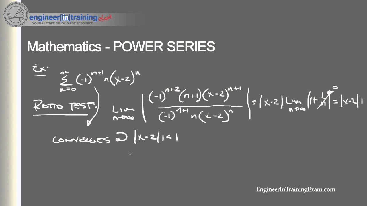 power series fundamentals of engineering fe eit exam review youtube rh youtube com fe exam study material fe exam study guide electrical engineering