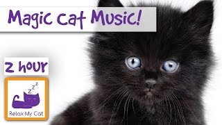 Magic Cat Music! Watch Your Cat Fall Asleep Before Your Eyes with Our Specially Designed C ...
