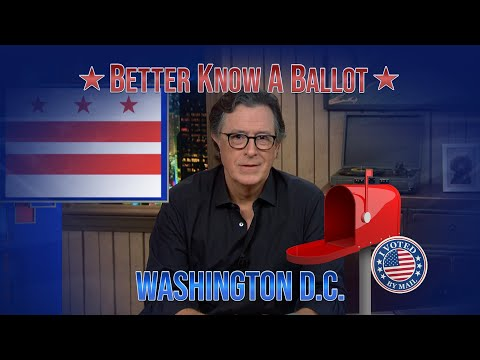 """Washington D.C., Confused About Voting In The 2020 Election? """"Better Know A Ballot"""" Is Here To He…"""