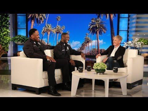 Ellen Meets Viral Singing Cops Michael & Moe
