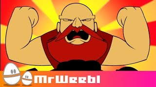 Dance Power : Russian Dancing Men : Episode 03 : MrWeebl