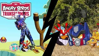 Angry Birds Transformers Real life and cartoon-Bowser12345