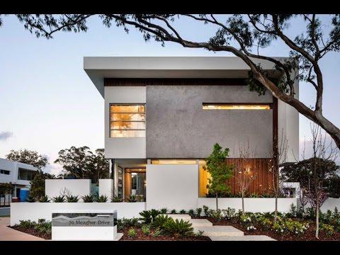 Современный проект дома с плоской крышей. Дизайн интерьера частного дома.