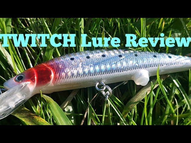 TWITCH Lure Review - BIG CANAL PERCH!!!