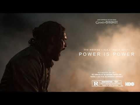 The Weeknd X SZA X Travis Scott - Power Is Power [Instrumental]