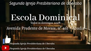 EBD - 27/12/2020 -ESCOLA BIBLICA DOMINICAL