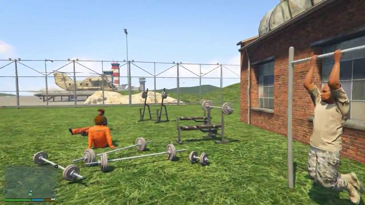 гта 5 гост побег из тюрьмы