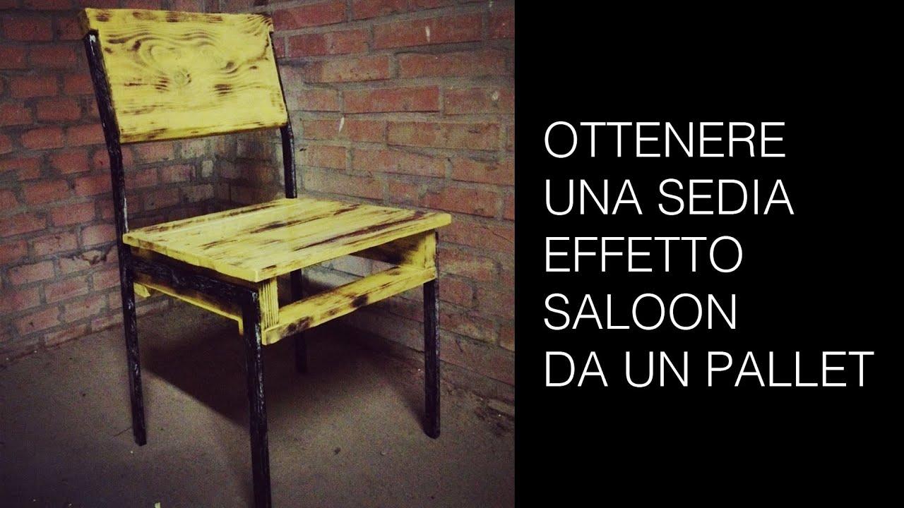 Come verniciare una sedia in pallet riciclo creativo del legno youtube - Verniciare una porta in legno ...