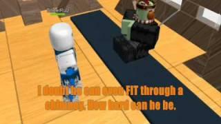 Roblox Holiday Collab 2010 Entry - Haji Vs Santa - The Epic short battle -