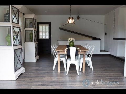 quot garage into dining room quot  for  quot fix it and finish it quot  youtube